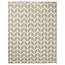Threshold Indoor Outdoor Rug Threshold Rectangular Patio Rug Indoor Outdoor Zig Zag Taupe