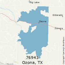 ozona map best places to live in ozona zip 76943
