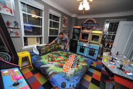 bedroom games man creates video game bedroom kills sex life