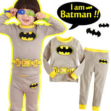 halloween pajamas for babies batman children u0027s pajamas set kids cartoon boy girls pjs
