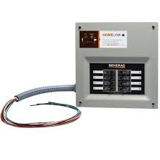 generac upgradeable manual transfer switch for 8 circuits 6852
