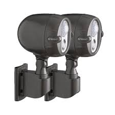 battery powered security light mr beams battery powered lights led motion sensored