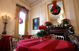 White House Christmas Decorations Photos by Laura Bush Shows Off Christmas Decorations At The White House