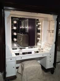 Mirrored Vanity Set Makeup Vanity With Lights Ikea Table Vanity Set Stool In Cherry