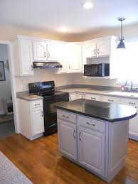 Painted And Glazed Kitchen Cabinets by Stephon Beachside Cottage Painted Kitchen Cabinets White With