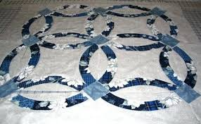Wedding Ring Quilt by Double Wedding Ring Quilt Pattern King Size Double Wedding Ring