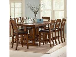 vendor 3985 zappa 9 piece counter height table u0026 chair set