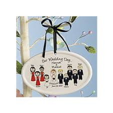 personalized wedding ornament personalized wedding characters ceramic oval ornament findgift