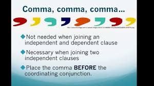 Coordinating And Subordinating Conjunctions Worksheets Commas Coordinating Conjunctions And Clauses Youtube