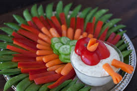 thanksgiving turkey veggie tray recipe genius kitchen