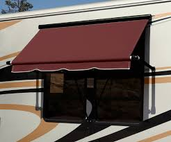 Material For Awnings Rv U0026 Camper Awnings Manual U0026 Electric Shadepro Inc