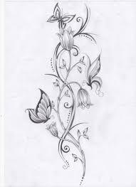40 coole fuß tattoo vorlagen flower vines butterfly and tattoo