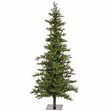 alpine christmas tree christmas lights decoration