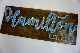 ohio state string art script ohio wall hanging ohio string custom last name string art last name sign last name wedding gift