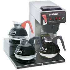 bunn 12950 0298 cwtf15 automatic 12 cup coffee brewer with 3 left