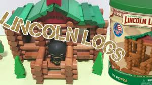 building a lincoln log house stop motion toy video for kids building a lincoln log house stop motion toy video for kids