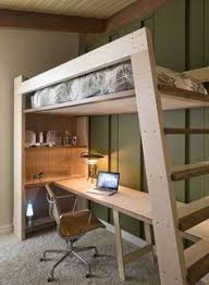 Build A Loft Bed With Storage by This Loft Bed Is Designed To Be Both Durable And Functional While