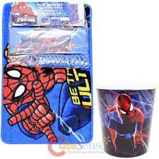 Marvel Bathroom Set Marvel Spiderman 15pc Bath Set Bathroom Rug Shower Curtain Wastecan