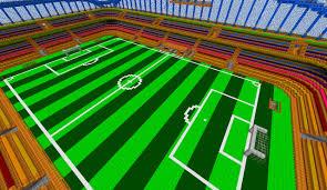 minecraft sports stadium stadium soccer icehockey minecraft project