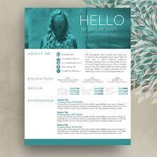 32 best resume templates images on pinterest resume design