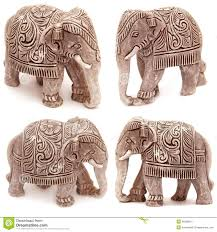 collection of elephant figurines stock photo image 46306041