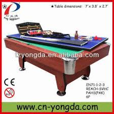 Yd M105 7 8ft 4 In 1 Big Multi Game Table Global Sources