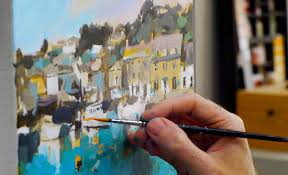 free online acrylic painting videos for beginners step by step