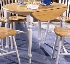 Drop Leaf Kitchen Table For Small Spaces Drop Leaf Kitchen Table Followfirefish