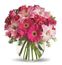flowers arrangements fancy pink flowers arrangements 1 800 florals florist delivery