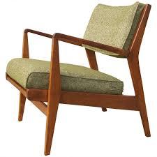 low armchair model u 430 in walnut by jens risom for sale at 1stdibs