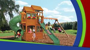 backyard discovery playsets springwood wooden swing set header