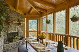 home porch log home edenfield traditional porch other by home