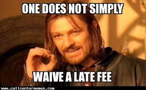 Rent Meme - late fee call center memes
