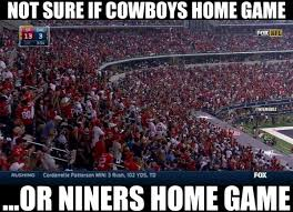 San Francisco 49ers Memes - nfl memes on twitter at t stadium is packed with san francisco
