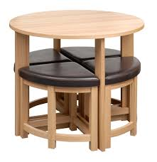 Small Round Dining Table Black Glass Round Dining Table Stowaway 4 Chairs Starrkingschool