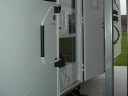 rv door glass rv plexiglass screen door replacement modmyrv