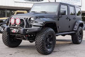 custom jeep wrangler unlimited for sale fully line x d custom jeep wrangler unlimited rubicon in black for