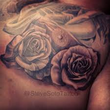 chest flower by steve soto