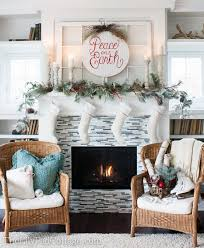 christmas mantel decor christmas mantel decor the lilypad cottage