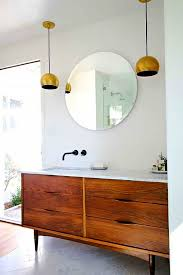 Mid Century Modern Bathroom Vanity Excellent Bathroom Best Mid Century Modern Vanity Ideas With 2 In