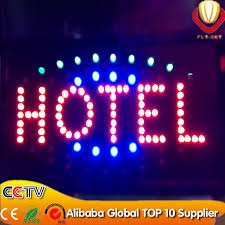 popular animated led lights board display custom made sign board