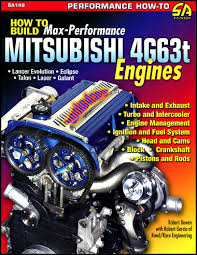 mitsubishi 4g63t manual book engine performance max eclipse lancer
