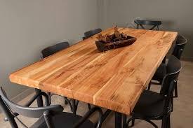 kiraz noedge masa idea wood doğal masif mobilya tasarım