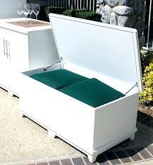 rubbermaid storage bin deck storage containers storage bench