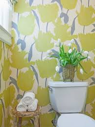 amazing blue wall color and floral pattern wallpaper combine with