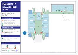 evacuation and fire escape plans