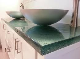 Glass Vanity Countertop Great Ways To Use Glass In Your Bathroom Stonebridge Contracting