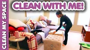 living room cleaning routine clean with me youtube