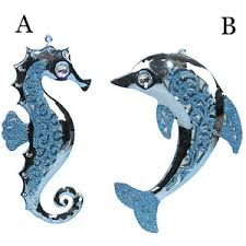 sea dolphin ornament ornaments polyvore