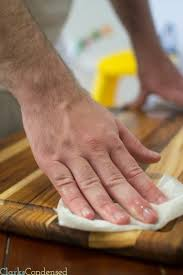 How To Clean And Oil by How To Oil And Treat Wood Cutting Boards Wood Cutting Boards